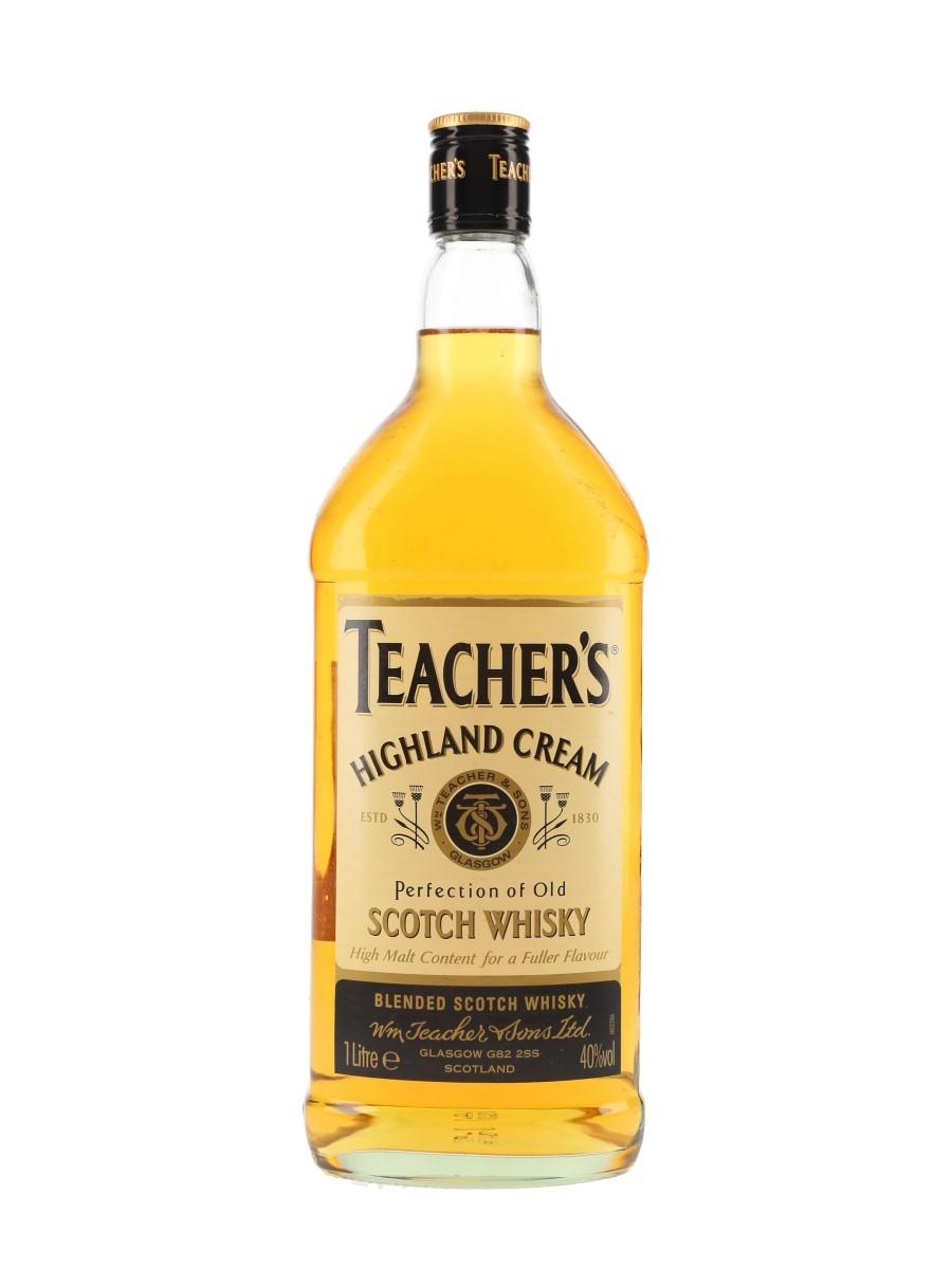 Teacher's Highland Cream  100cl / 40%