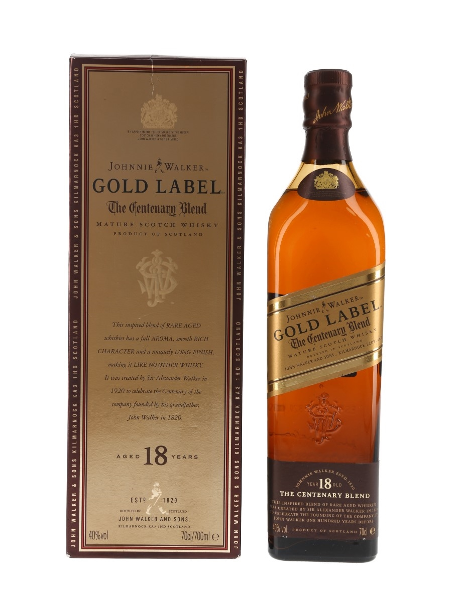 Johnnie Walker Gold Label 18 Year Old The Centenary Blend 70cl / 40%