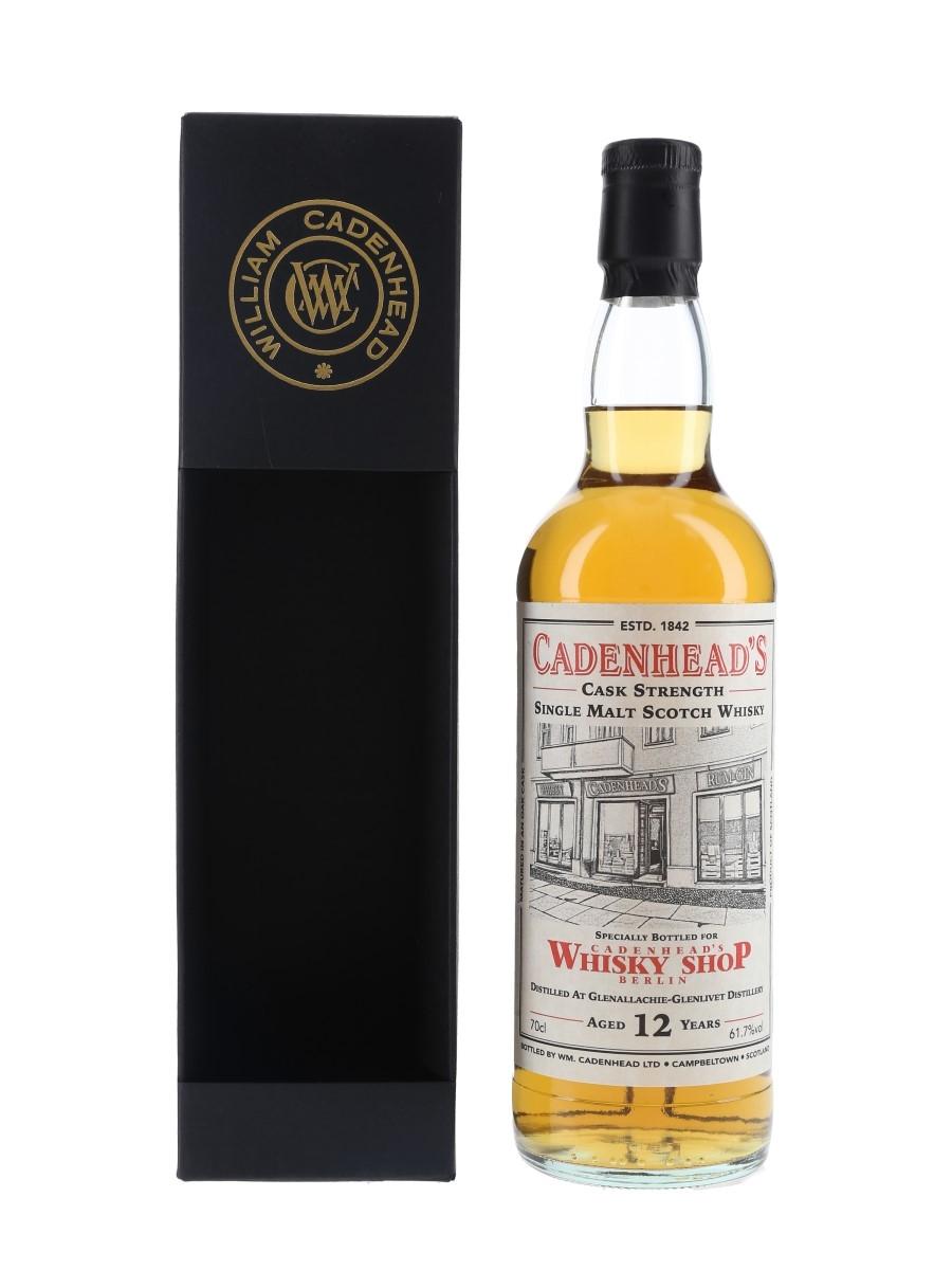 Glenallachie Glenlivet 2007 12 Year Old Bottled 2020 - Cadenhead's Whisky Shop Berlin 70cl / 61.7%