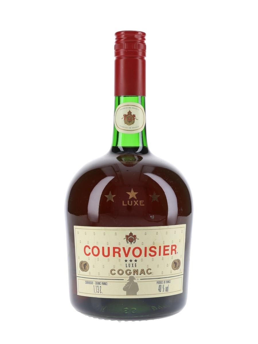 Courvoisier 3 Star Luxe Bottled 1970s 113cl / 40%