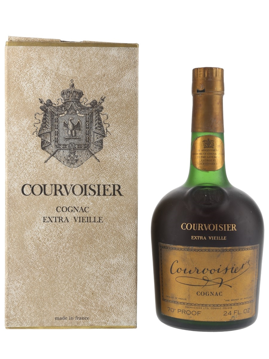 Courvoisier Extra Vieille Bottled 1960s-1970s 68cl / 40%