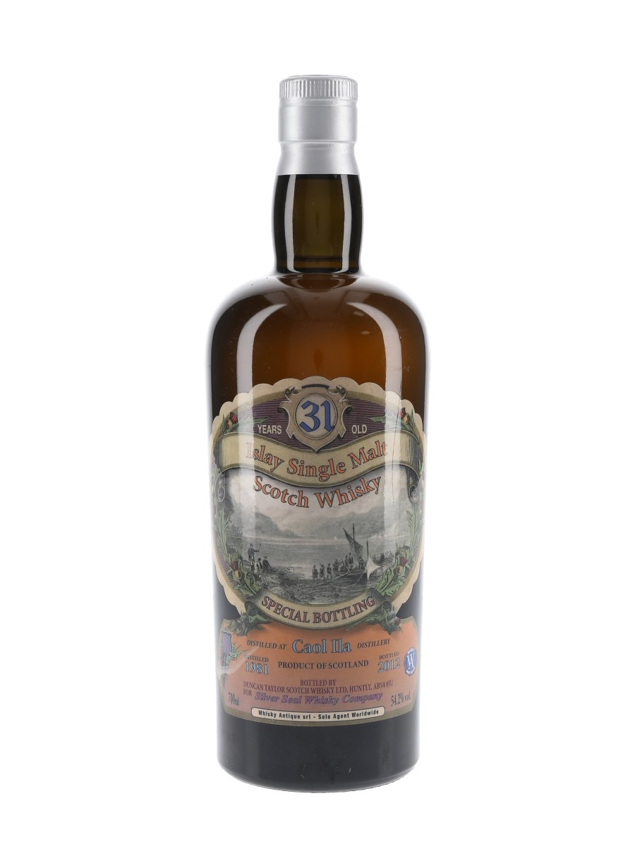 Caol Ila 1981 31 Year Old Sestante Collection Cask 2930 Bottled 2012 - Silver Seal 70cl / 54.2%
