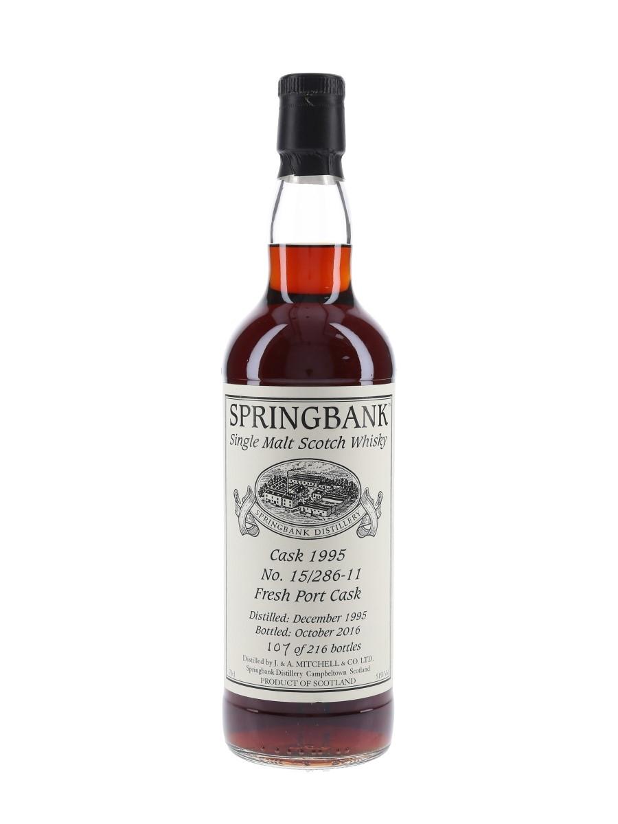 Springbank 1995 Fresh Port Cask Bottled 2016 70cl / 51%
