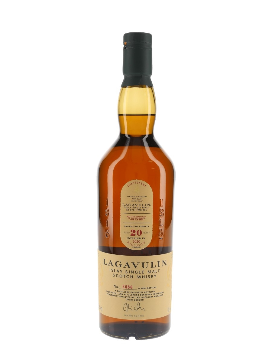Lagavulin 20 Year Old Feis Ile 2020 Exclusive 70cl / 54%