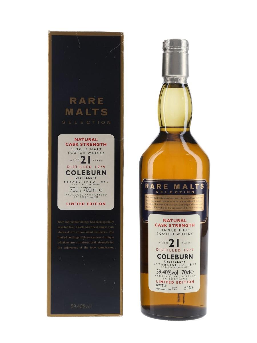 Coleburn 1979 21 Year Old Bottled 2000 - Rare Malts Selection 70cl / 59.4%