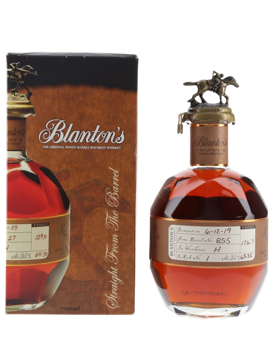 Blanton's Straight From The Barrel No. 855 Bottled 2019 70cl / 63.35%