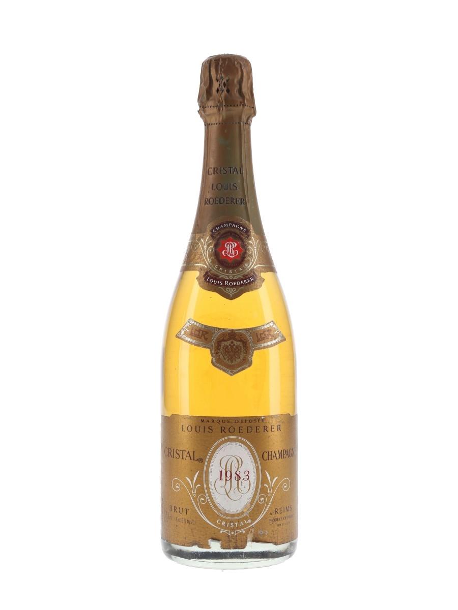 Louis Roederer Cristal 1983  75cl / 12%