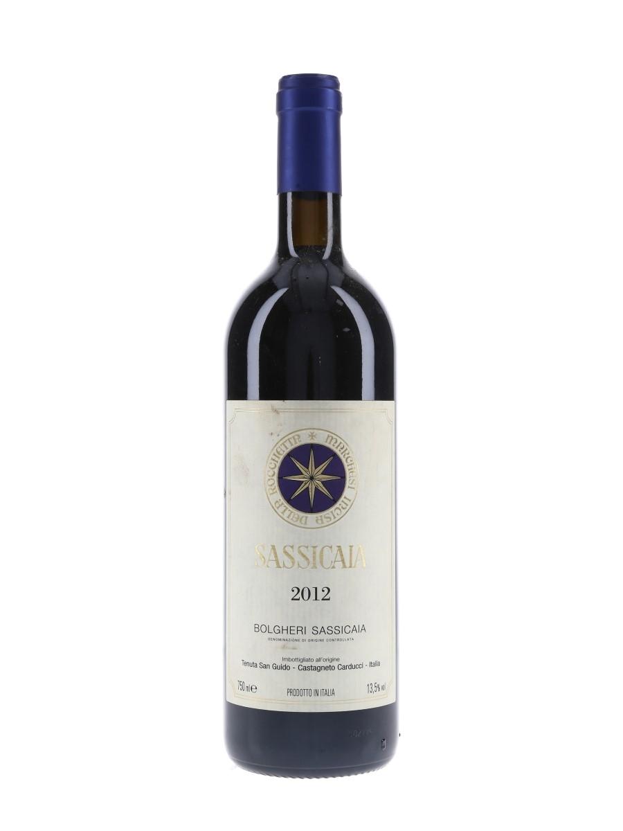 Bolgheri Sassicaia 2012  75cl / 13.5%