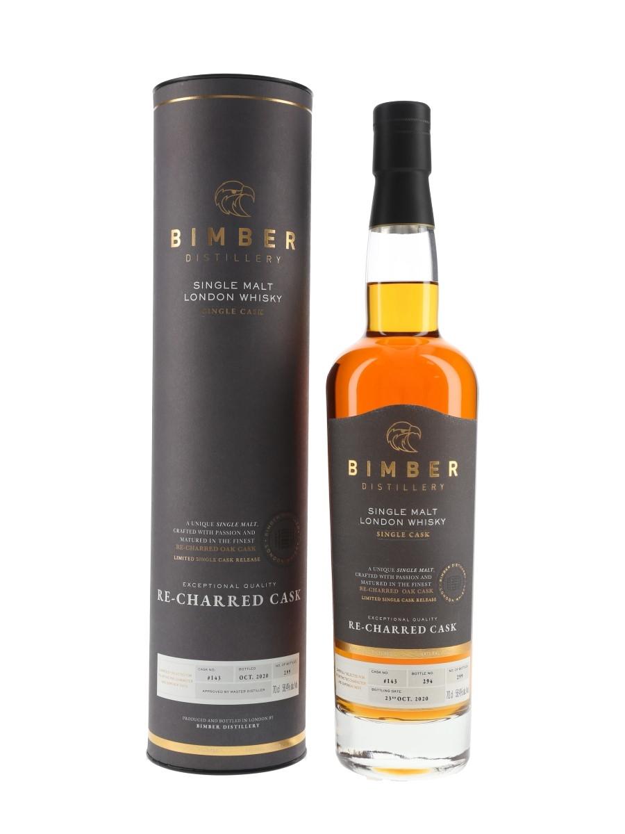 Bimber Re-Charred Cask No.143 Bottled 2020 70cl / 58.4%