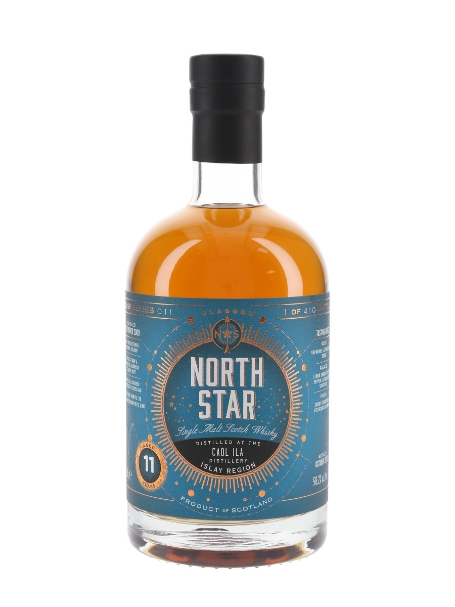 Caol Ila 2009 11 Year Old Bottled 2020 - North Star 70cl / 58.2%