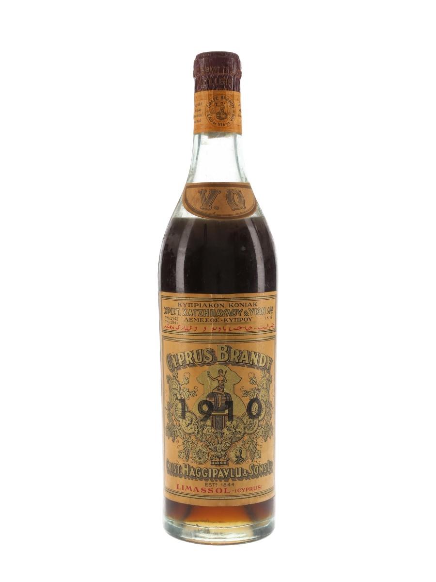 Haggipavlu 1910 VO Cyprus Brandy  75cl