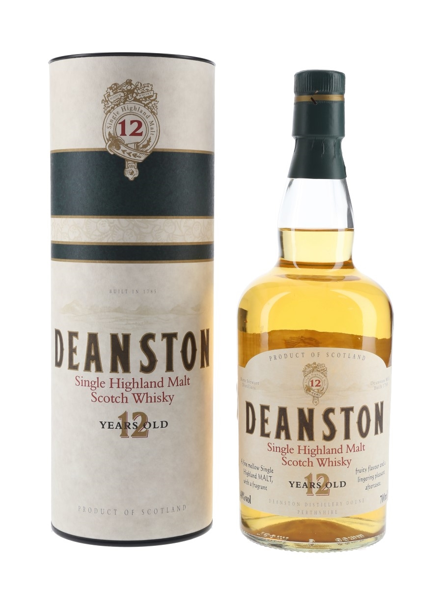 Deanston 12 Year Old Old Presentation 70cl / 40%