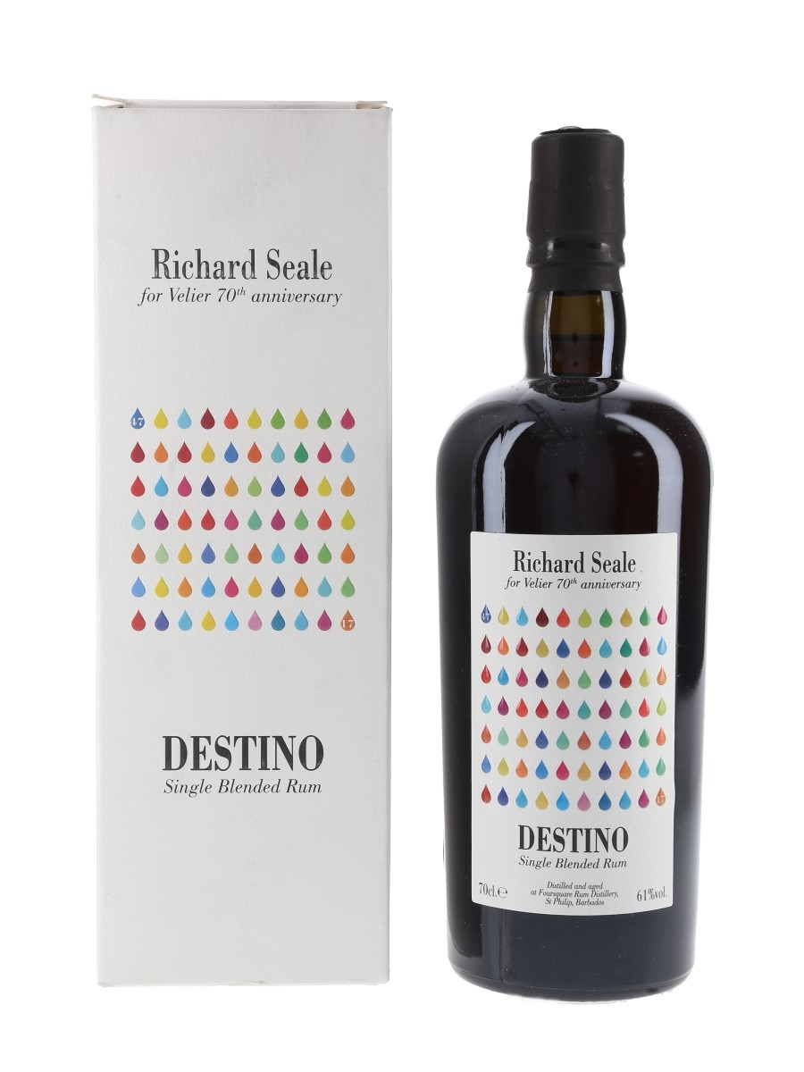 Foursquare Destino Richard Seale - Velier 70th Anniversary 70cl / 61%
