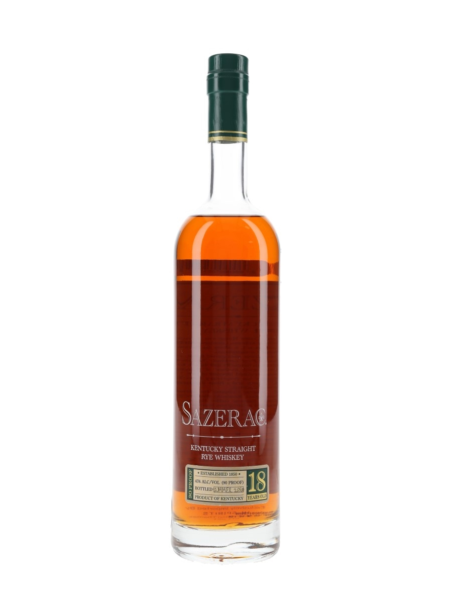 Sazerac 18 Year Old Bottled 2018 - Antique Collection 75cl / 45%