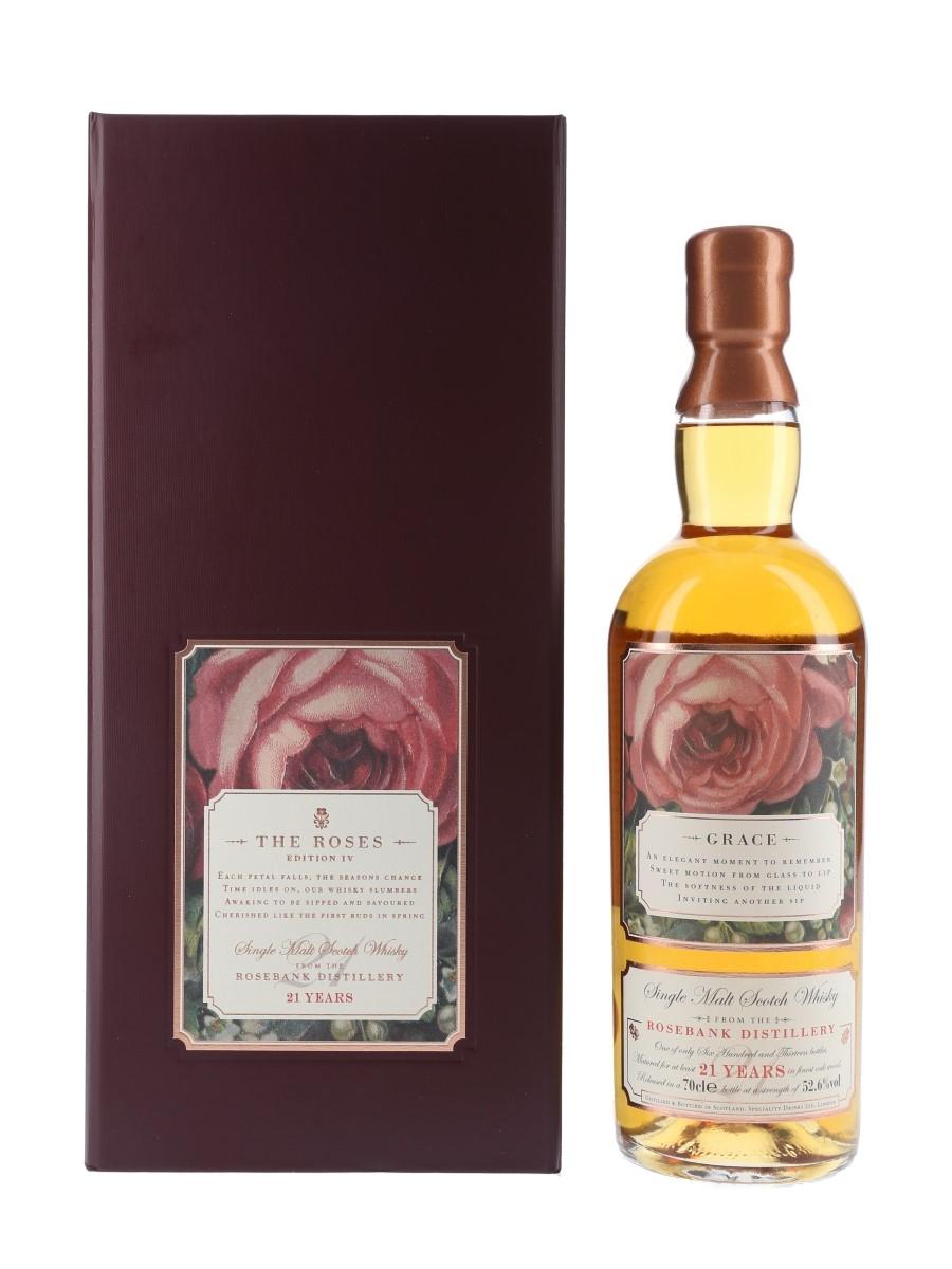 Rosebank 21 Year Old Rosebank Roses Edition IV - Grace 70cl / 52.6%