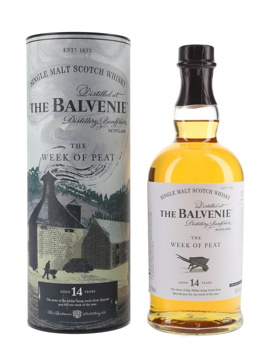 Balvenie 14 Year Old The Week Of Peat The Balvenie Stories - Story No.2 70cl / 48.3%