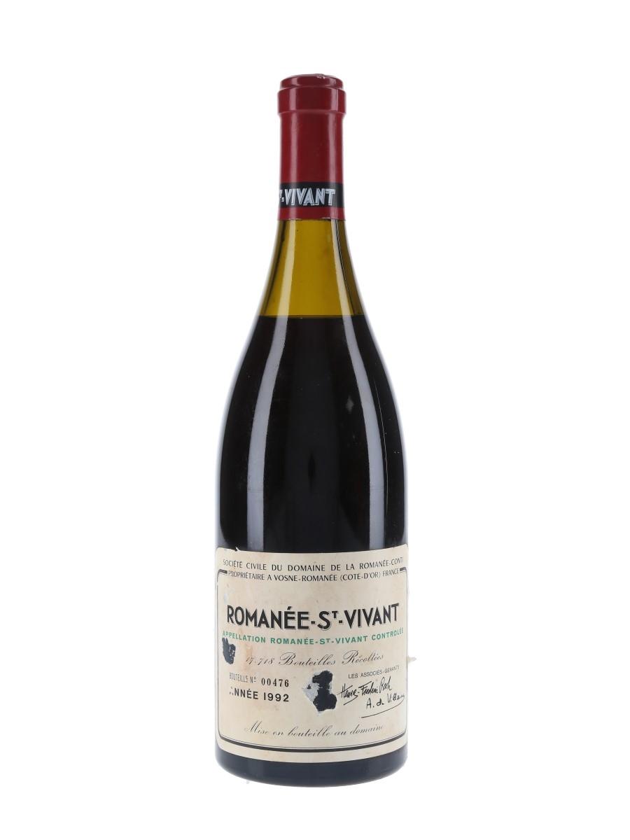 Romanee St Vivant Grand Cru 1992 Domaine De La Romanee-Conti 75cl / 13%