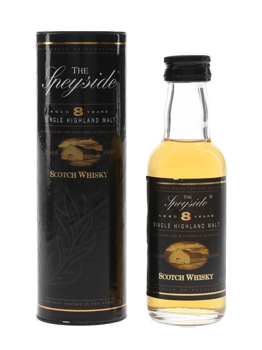 Speyside 8 Year Old  5cl / 40%
