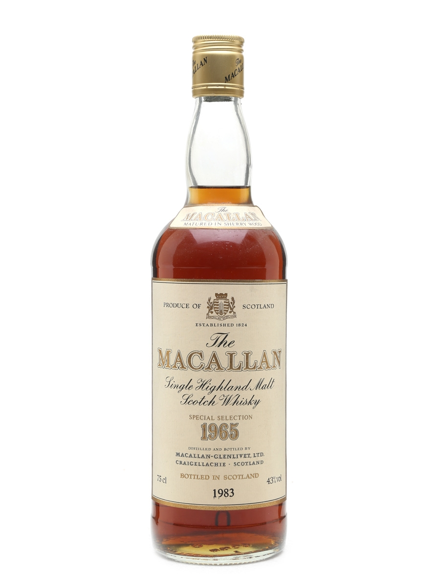 Macallan 1965 Bottled 1983 75cl / 43%