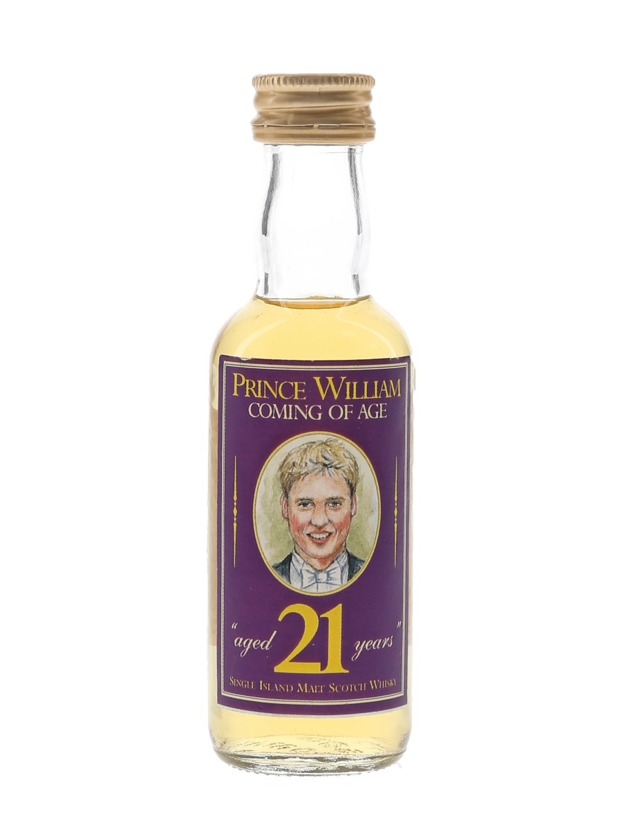 Highland Park 10 Year Old Prince William 21 The Whisky Connoisseur - Julie Menzies 5cl / 40%