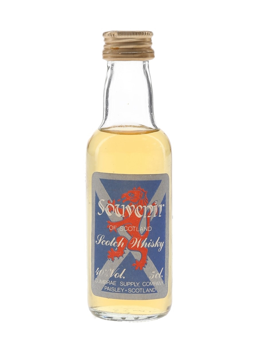 Souvenir Of Scotland Cumbrae Supply Company 5cl / 40%