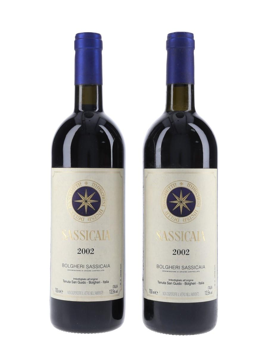 Bolgheri Sassicaia 2002  2 x 75cl / 13.5%