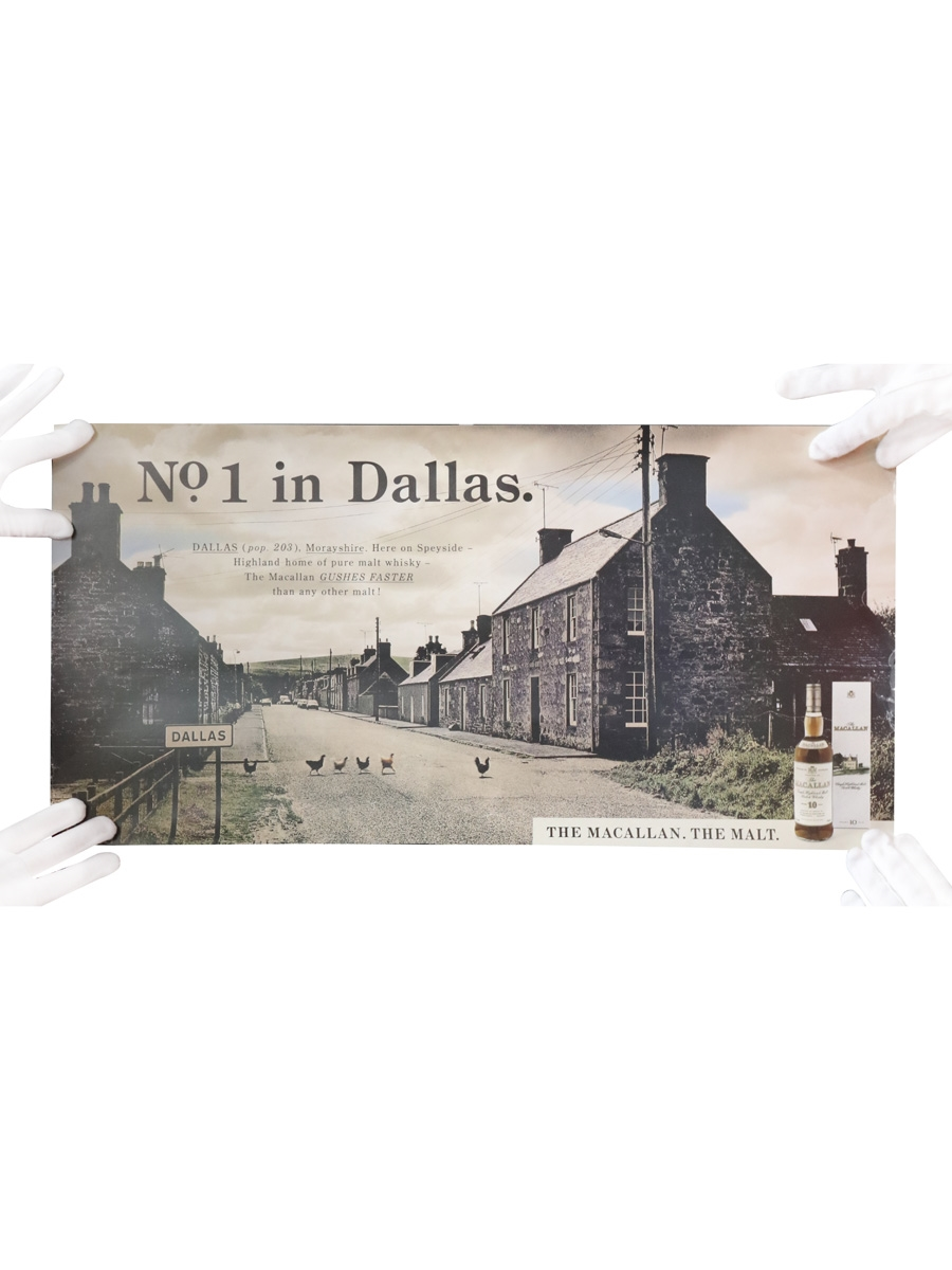 Macallan Advertisement No.1 In Dallas 60cm x 30cm