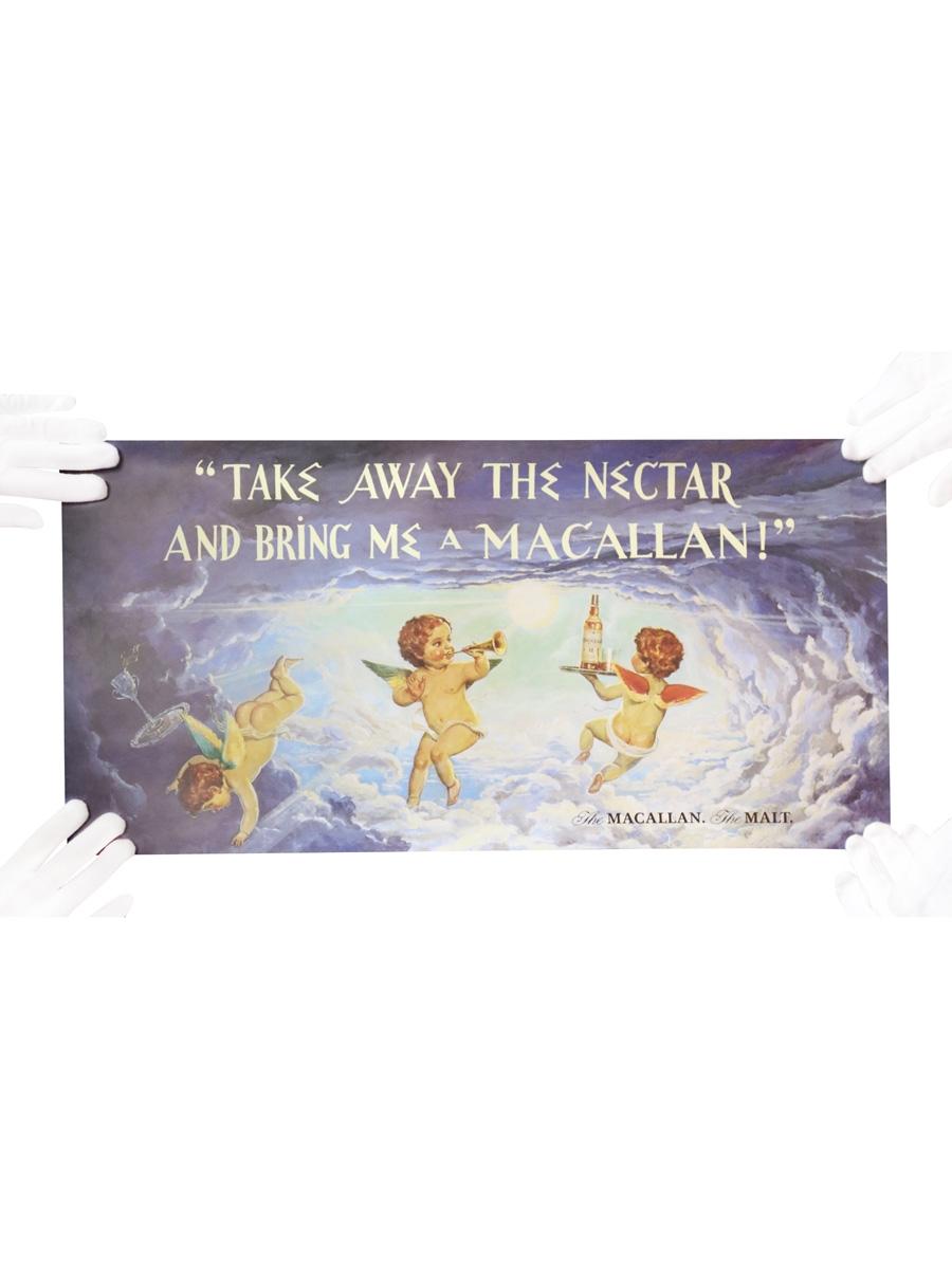 Macallan Advertisement Take Away The Nectar And Bring Me A Macallan! 60cm x 30cm