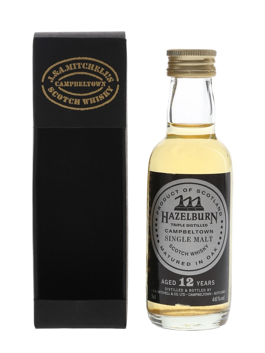Hazelburn 12 Year Old Triple Distilled 5cl / 46%
