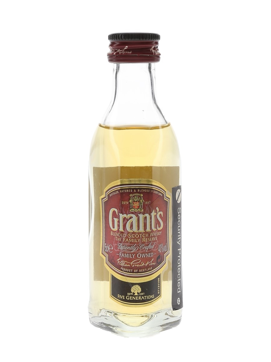 Grant's Family Reserve  5cl / 40%