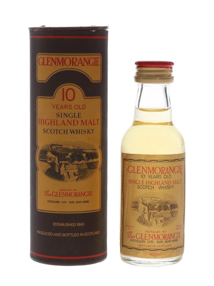 Glenmorangie 10 Year Old Bottled 1980s 5cl / 40%