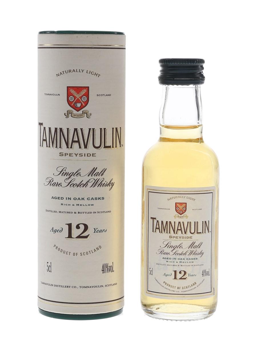 Tamnavulin 12 Year Old  5cl / 40%