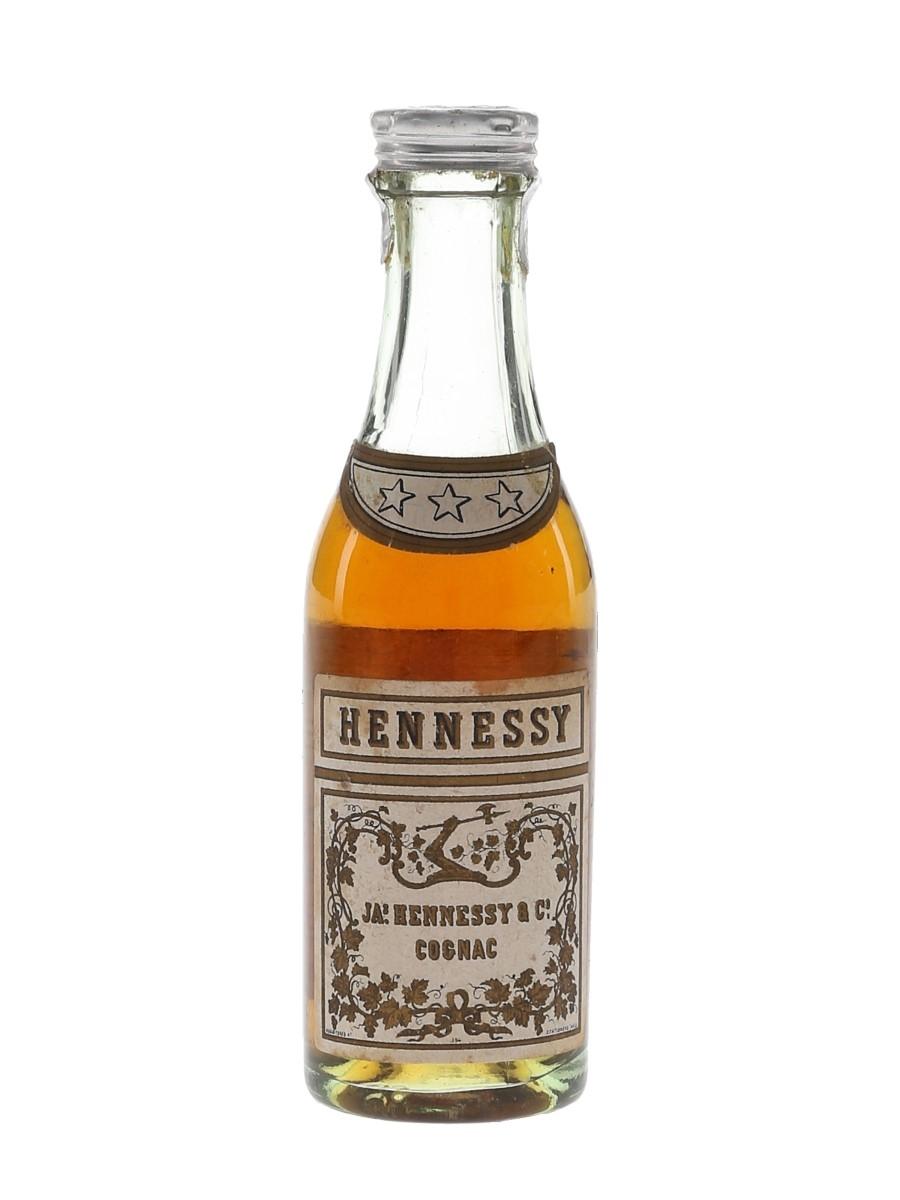 Hennessy 3 Star Bottled 1950s 3cl / 40%