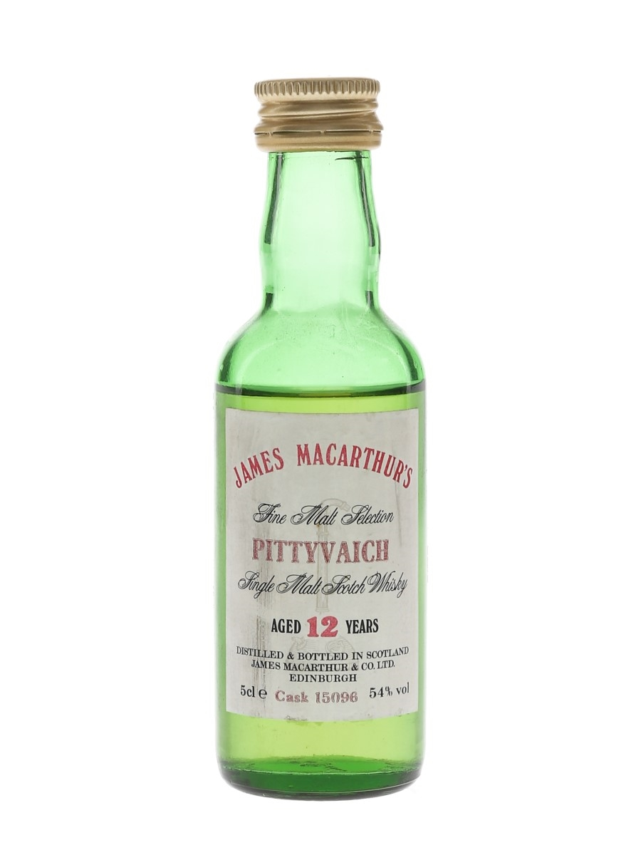Pittyvaich 12 Year Old Cask No. 15096 James MacArthur's 5cl / 54%