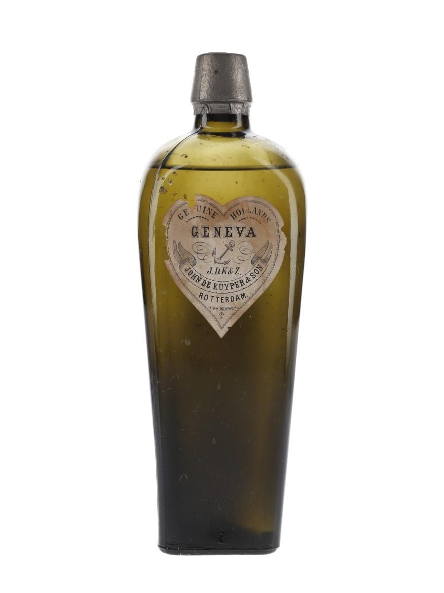 De Kuyper Geneva Bottled Early 20th Century 75cl