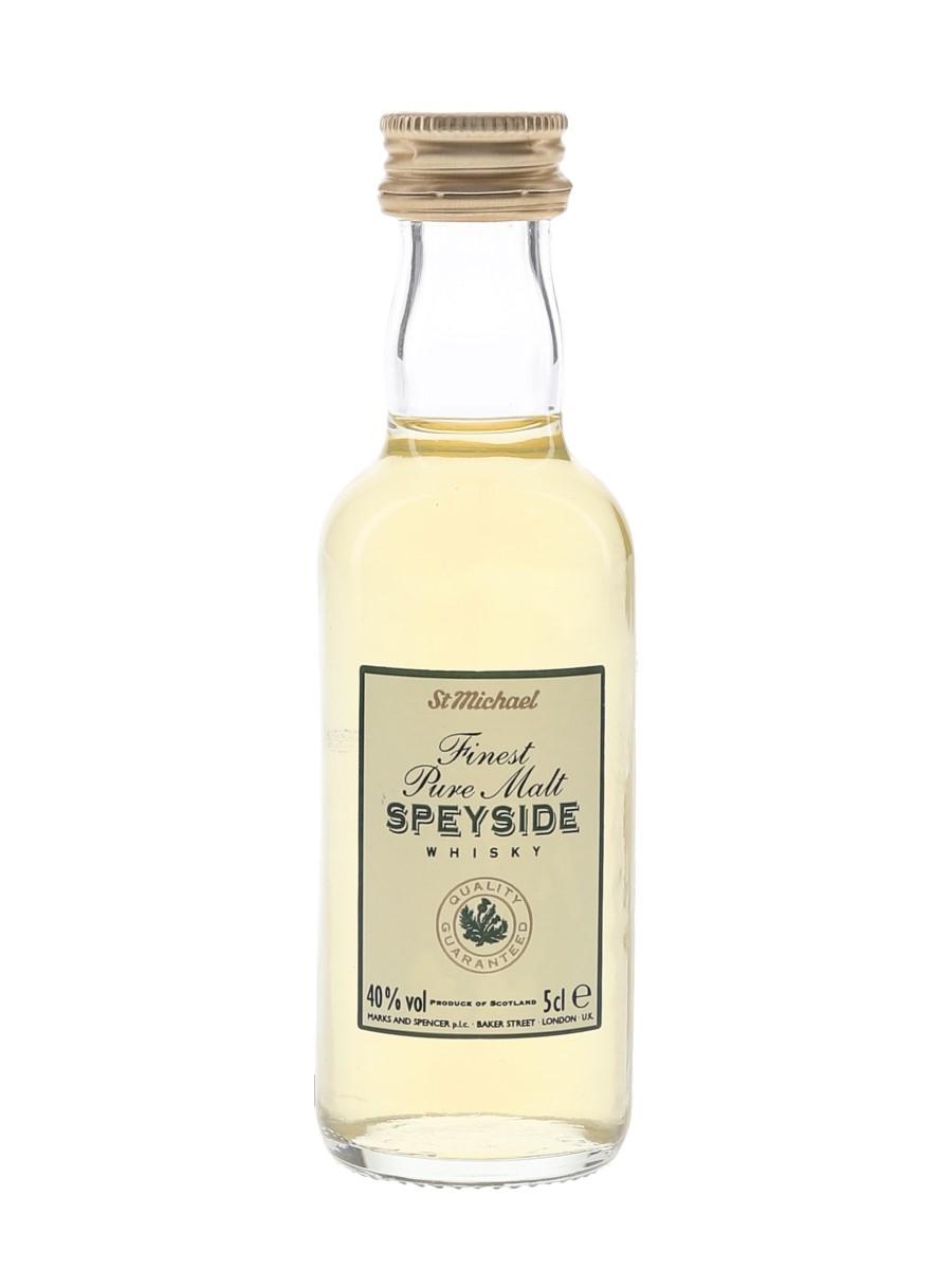 St Michael Finest Speyside Pure Malt Marks & Spencer 5cl / 40%