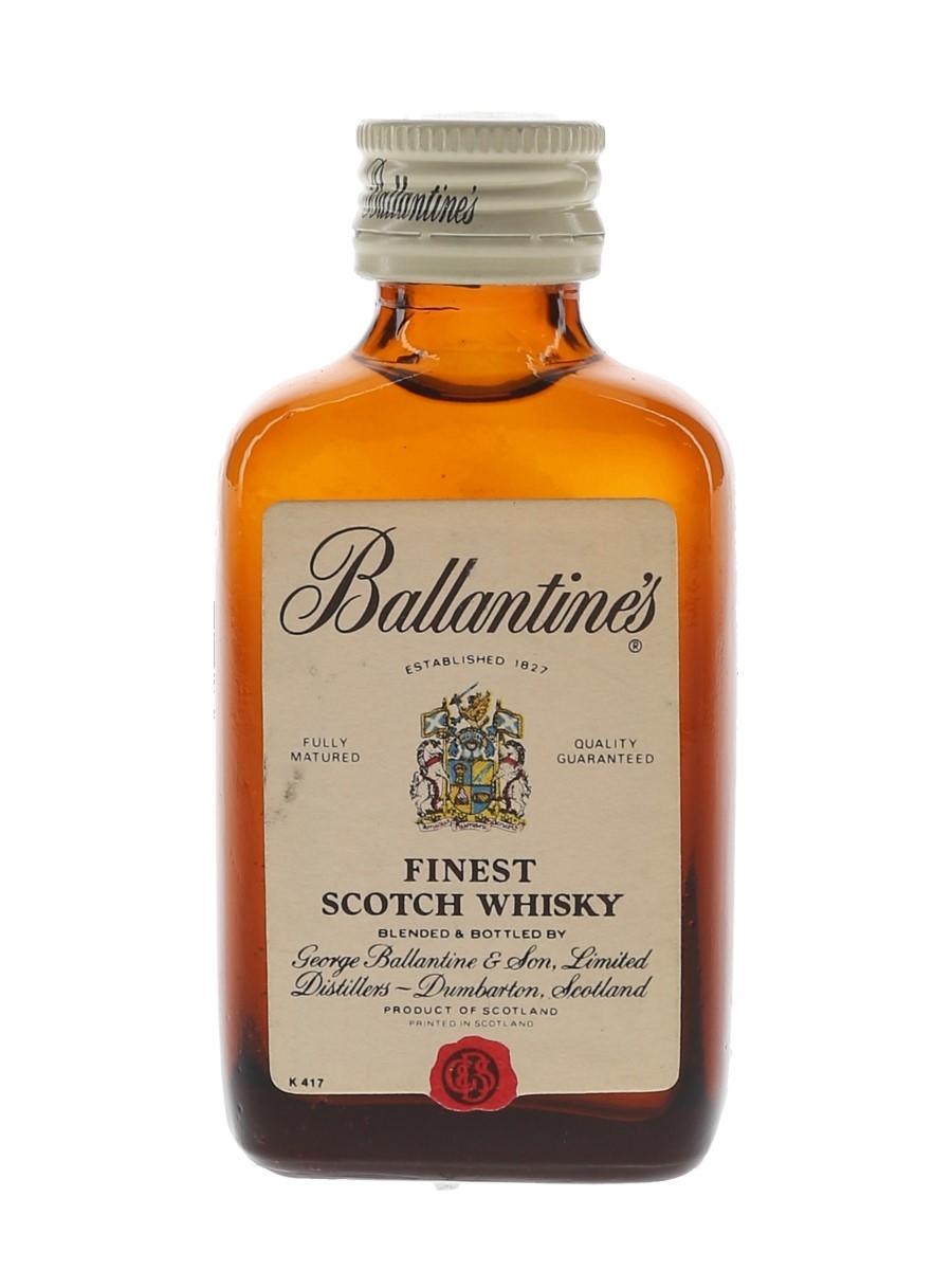 Ballantine's Finest Bottled 1970s 5cl / 40%